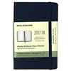 Moleskine Weekly Planner 2017-18 (Small Sapphire Hardcover)