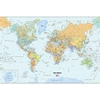 Dry Erase Peel and Stick World Map 24 x 36