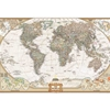 Dry Erase Peel and Stick Antique Map 24 x 36
