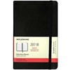 Moleskine Weekly Planner 2017-18 (Large Black Hardcover)