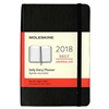 Business Planner Daily 2018 Moleskine 3.5 x 5.5 Black Softcover