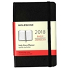 Business Planner Daily 2018 Moleskine 3.5 x 5.5 Black Hardcove