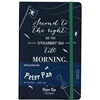 MOLESKINE LIMITED EDITION HARD COVER RULED PETER PAN NOTEBOOK SAPPHIRE BLUE LARGE