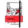 MOLESKINE LIMITED EDITION RULED RULED KEITH HARING NOTEBOOK WHITE POCKET