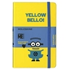 MOLESKINE LIMITED EDITION RULED RULED MINIONS NOTEBOOK SUNFLOWER YELLOW POCKET