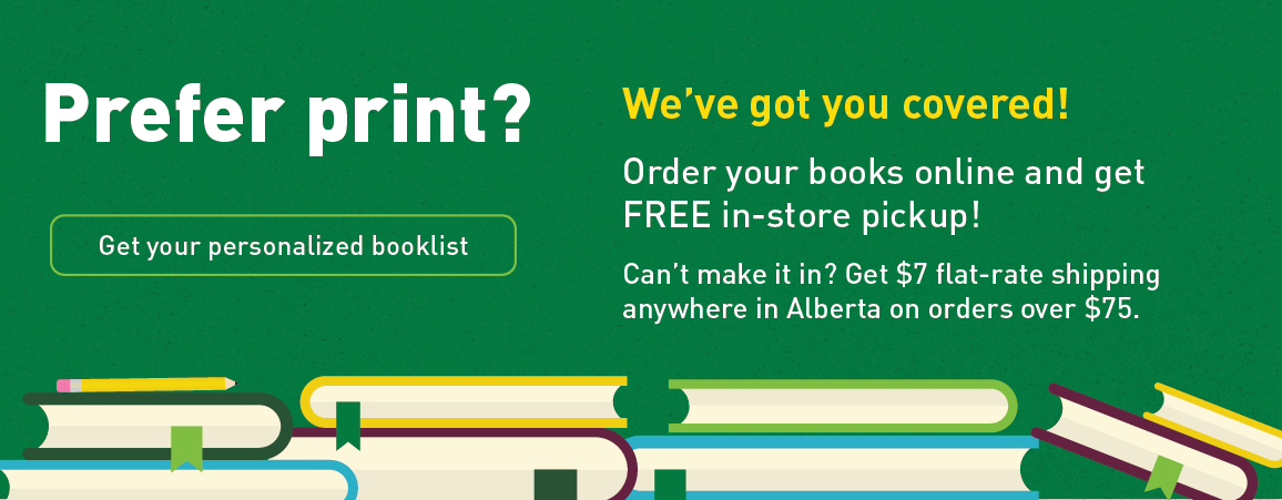 Free in-store pickup on print textbooks. Or, get $7 flat-rate shipping. Shop now.