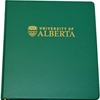 Crested 2 inch d-ring binder