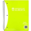 SCRIBBLER 3 SUBJECT GREEN RECYCLED UKAGU