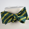 Striped UAlberta Bow Tie