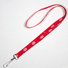 Lanyard - Red with Vikings logo