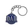 Key Chain - UA Dad Pewter