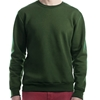 Custom Faculty Green Crew Neck - Made in Canada
