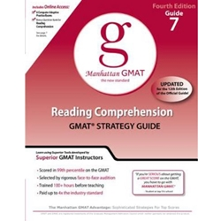 Reading Comprehension GMAT Preparation Guide, 4th Edition