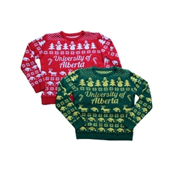 Knitted Ugly Christmas Sweater - UAlberta